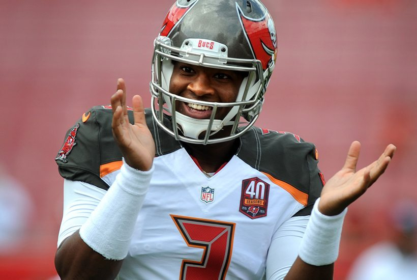 Bucs QB Jameis Winston is destined to have a Hall of Fame career in Tampa Bay – Photo by: Cliff Welch/PR