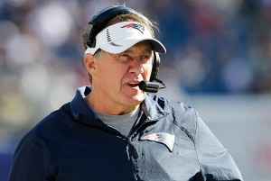 Patriots head coach Bill Belichick – Photo by: Getty Images