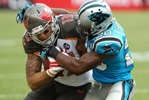 Bucs WR Mike Evans – Photo by: Cliff Welch/PR