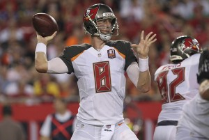 Bucs QB Mike Glennon - Photo by: Cliff Welch/PR
