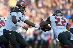 Bucs QB Jameis Winston & RB Doug Martin - Photo by: Getty Images