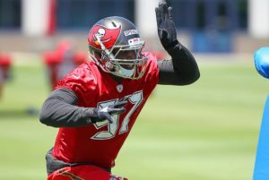 Buccaneers DE Noah Spence has the talent to become a double-digit sacker in Tampa Bay - Photo by: Cliff Welch/PR