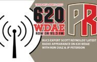 (Audio) Reynolds Talks Bucs Free Agency With Ron And JP On 620 WDAE