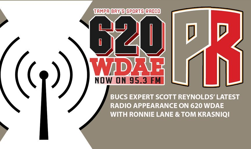 Reynolds Says On 620 WDAE VJax Likely Done With Bucs, Martin On Bubble
