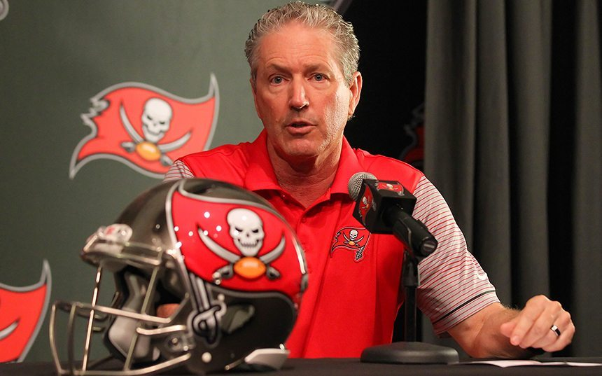 Koetter Chastises Bucs For Social Media Spat With Falcons