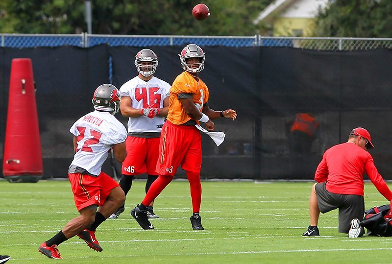 Bucs' WR Jackson: Winston's Not Just Barking, He's Working
