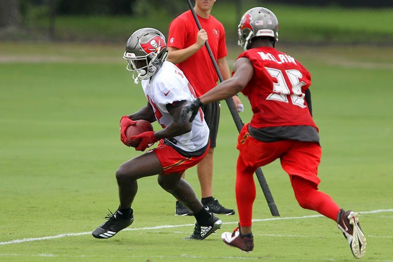 Koetter Compares Bucs Rookie WR To Former Falcon White
