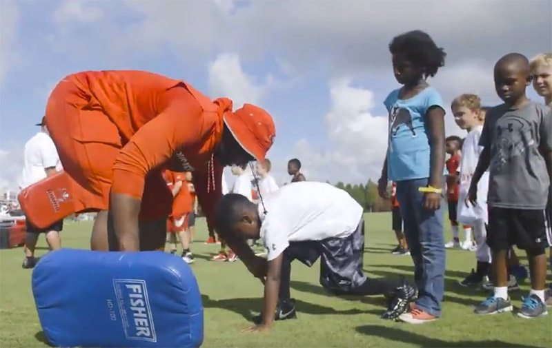 Bucs DT McCoy Coaches Up Local Youth With Some Special Guests