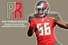 Jacquies Smith, Mailbag, Bucs