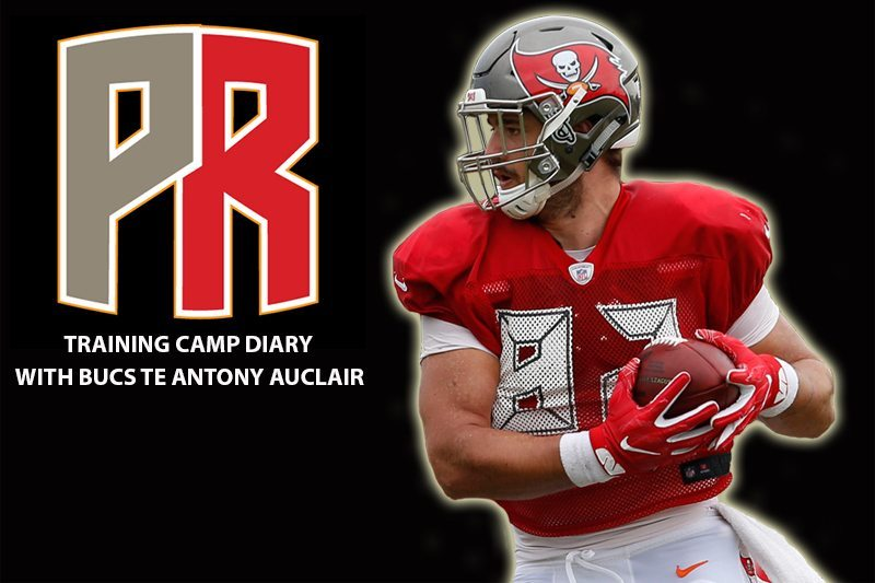 the latest 9772e 8b585 Auclair's Bucs Training Camp Diary: It's Always Nice To End ...
