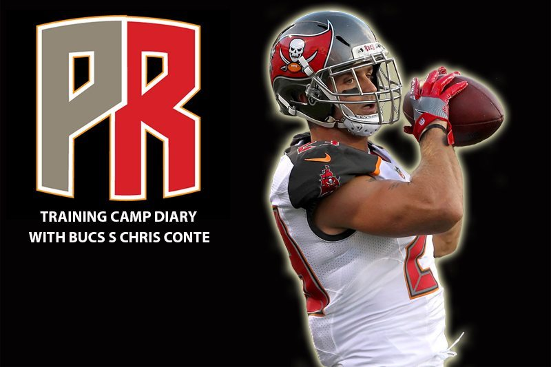 Conte's Bucs Training Camp Diary: You See The Finish Line In Camp