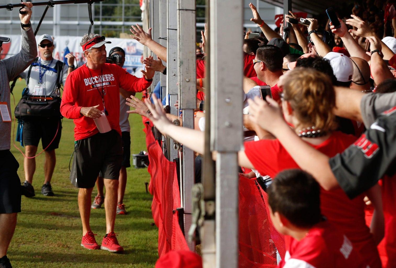 Bucs Camp Recap 8-5: Stars Shine On Stick Carrier Saturday