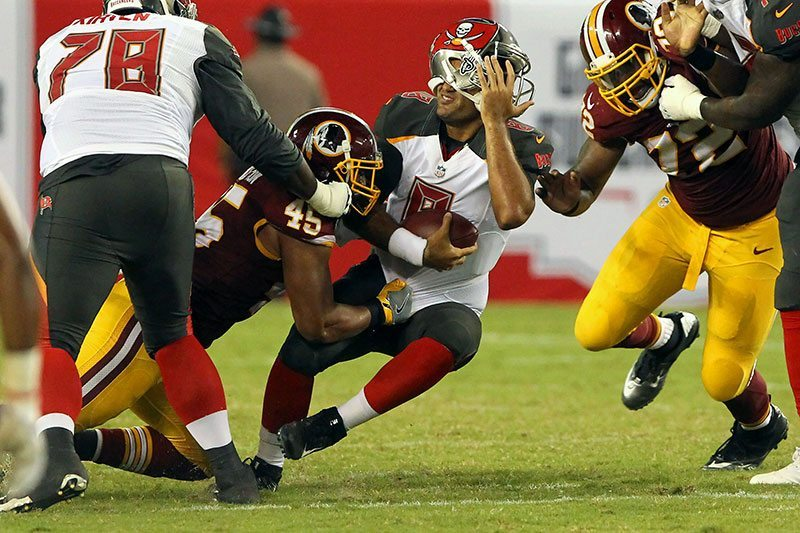 Bucs vs. Redskins Most Disappointing