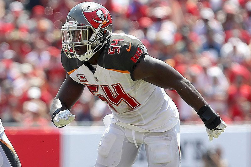 SR's Fab 5: Lavonte Is Back For The Bucs; NFL No Longer