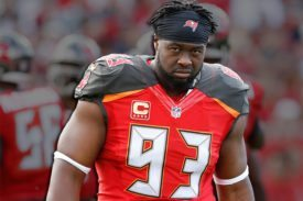 Bucs DT Gerald MCoy - Photo by: Cliff Welch/PR