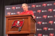 Five Things We Learned From One Buc 9-18: Target Sack Number, Ping Pong Rankings