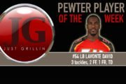 Just Grillin Pewter Player Of The Week: LB David