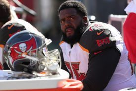 Bucs LT Donovan Smith - Photo by: Mark Lomoglio/PR