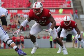 NC State DE Bradley Chubb - Photo courtesy of NC State Univ.