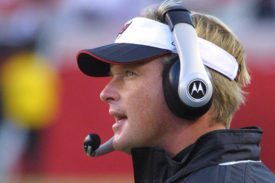 Former Bucs head coach Jon Gruden - Photo by: Cliff Welch/PR