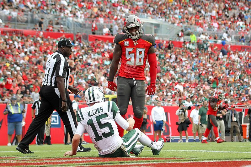 Bucs LB Kwon Alexander – Photo by: Cliff Welch/PR