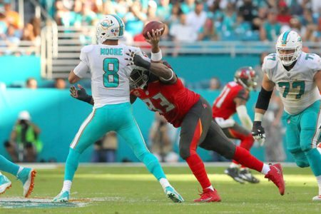 Buc DT Gerald McCoy – Photo by: Cliff Welch/PR