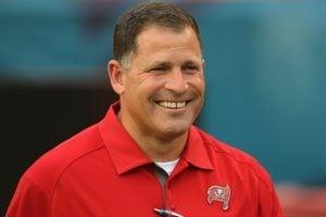 Former Bucs head coach Greg Schiano - Photo by: Cliff Welch/PR