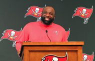 WATCH: Bucs D-Line Coach Buckner's Introductory Press Conference