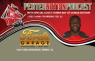 Live Pewter Nation Podcast With Demar Dotson At Ford's Garage Restaurant