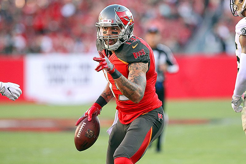 Bucs WR Mike Evans - Photo by: Cliff Welch/PR
