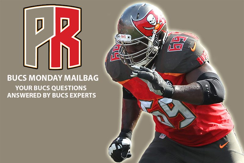 Bucs Monday Mailbag 4-16: Dotson's Knee, Draft Visits And Walking Away From Winston?