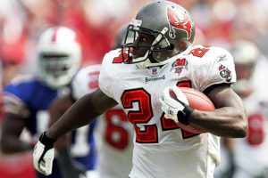 Former Bucs RB Cadillac Williams - Photo by: Cliff Welch/PR