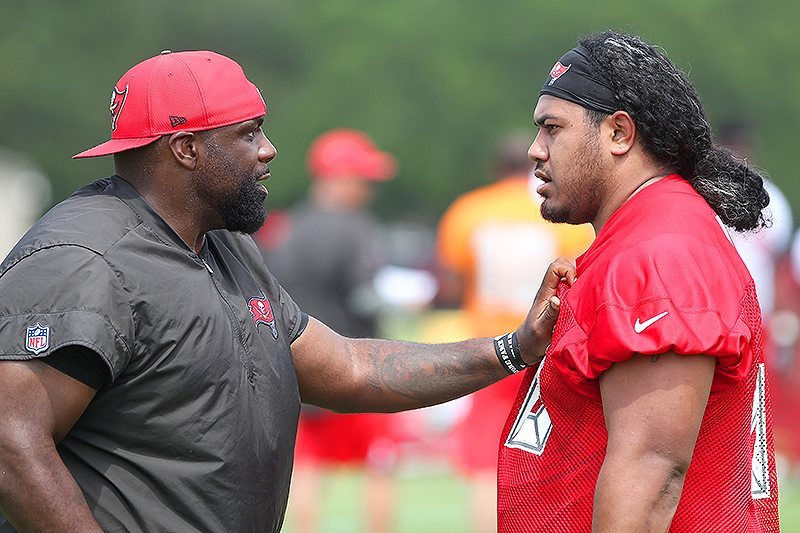 Buckner Pushes Vea, Bucs' D-Line Up-field With New Coaching Style
