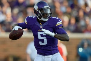 Former Vikings QB Teddy Bridgewater - Photo by: Cliff Welch/PR