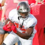 Bucs RB Peyton Barber - Photo by: Cliff Welch/PR