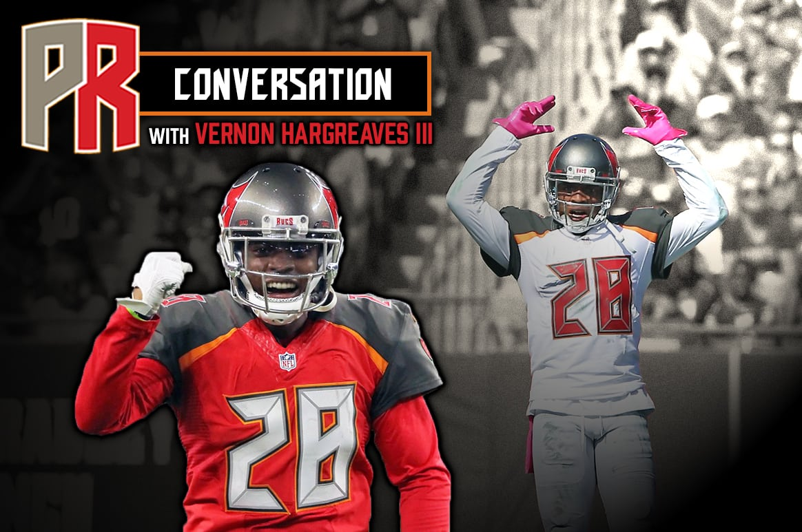 Bucs CB Vernon Hargreaves III - Photos by: Cliff Welch/PR