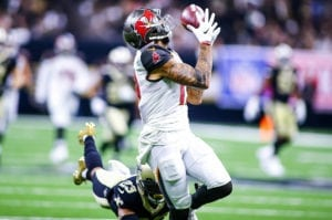Bucs WR Mike Evans - Photo by: Mary Holt/PR