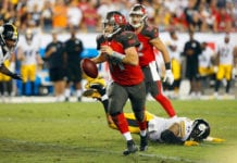 Bucs QB Ryan Fitzpatrick - Photo by: Cliff Welch/PR