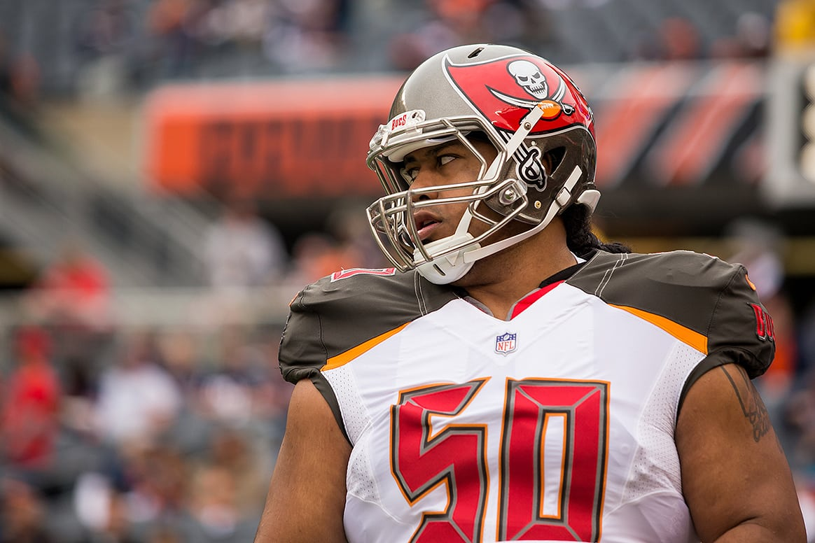 reputable site 1db2d 93f40 REPORT: Bucs Feared Vea Tore ACL Against Bengals; MRI Was ...