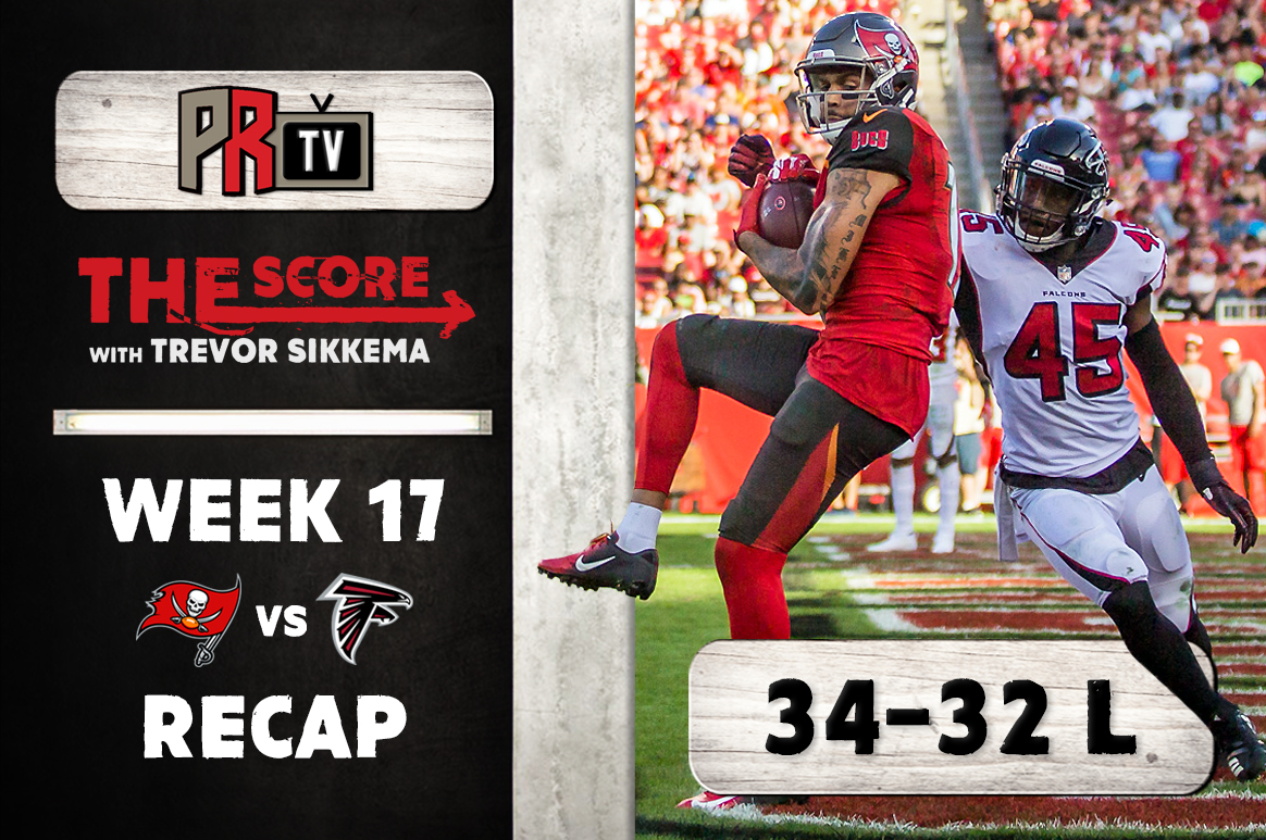 The Score Bucs vs Falcons