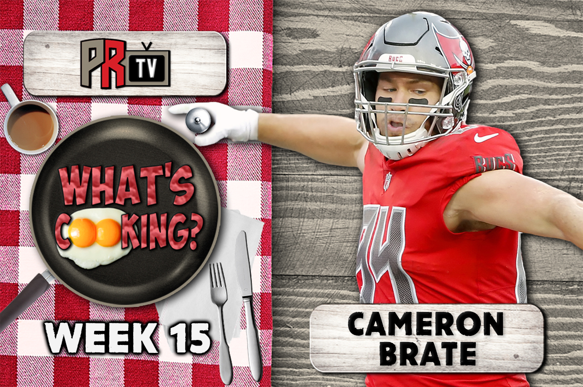 What's Cooking? Cameron Brate