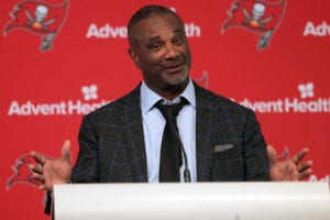 Bucs ST coordinator Keith Armstrong