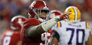 Alabama DT Quinnen Williams