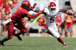 """Oklahoma WR Marquise """"Hollywood"""" Brown"""