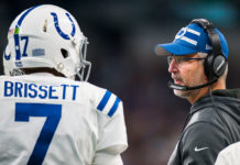 Colts QB Jacoby Brissett – Photo by: Getty Images