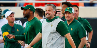 New Panthers coach Matt Rhule – Photo by: Getty Images