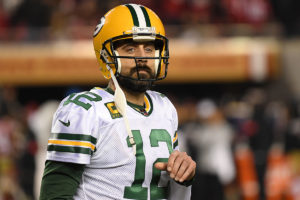 Packers QB Aaron Rodgers