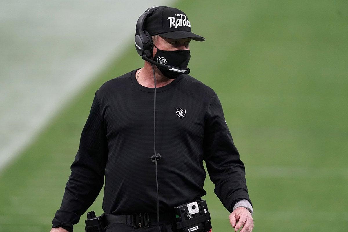 Raiders HC Jon Gruden
