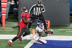 Bucs ILB Devin White and Giants RB Dion Lewis