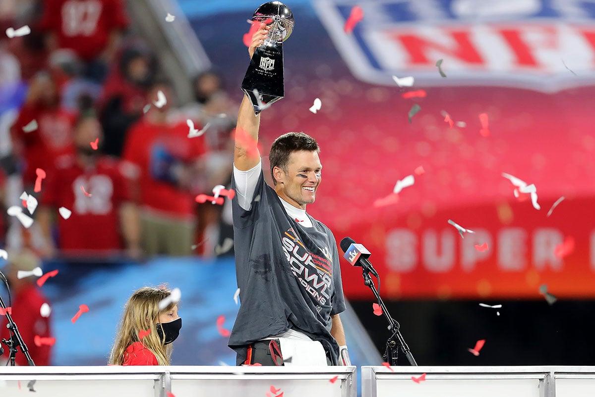 Bucs QB Tom Brady